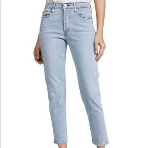 Levi's Wedgie Icon Fit 26 Slim Straight Ankle